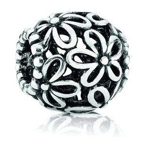 PANDORA Openwork Wildflower Charm *RETIRED* 790890